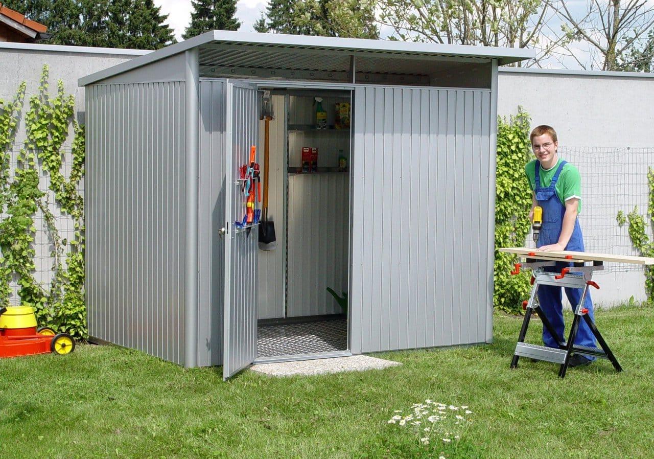 Comment construire un abri de jardin en métal ? - Jardinews