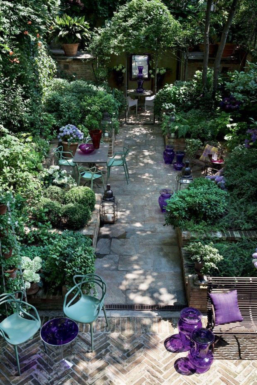 Comment r ussir l am nagement de son petit jardin de ville - Petit jardin romantique tours ...