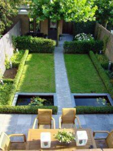 jardin urbain symétrique