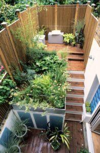 petit jardin inspiration exotique